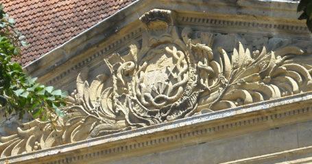 Abbaye de Saint Sever De Rustan – Pavillon des hôtes détail
