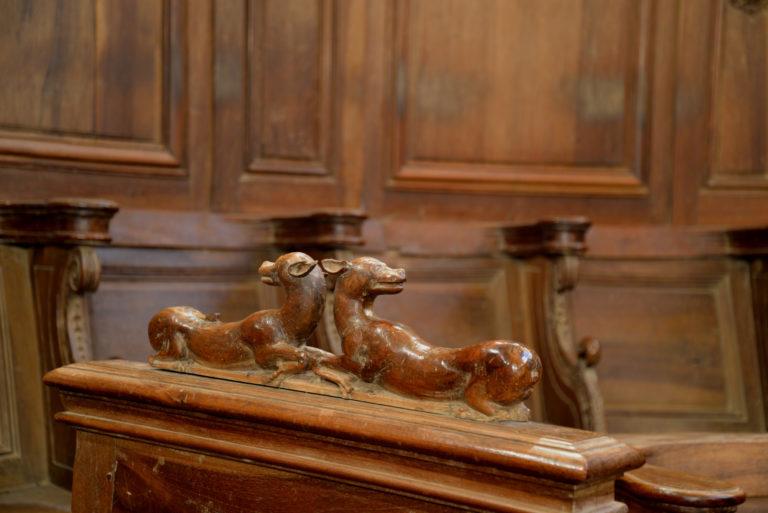 Abbaye de Saint Sever De Rustan - Boiseries du choeur